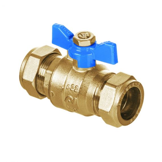 DZR INTABALL VALVE BUTTERFLY HANDLE