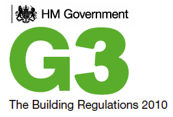 BUILDING REGULATION G3 accreditation