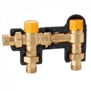 Image of Caleffi 262 Series Boiler Connection Kit on white background